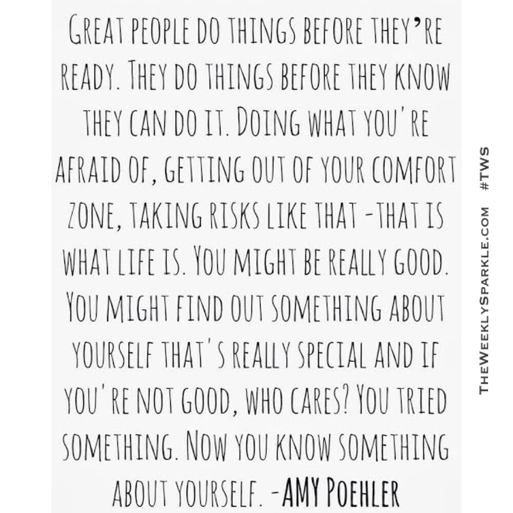 Really Good Quotes About Life Amy Poehler Quotes  The Weekly Sparkle