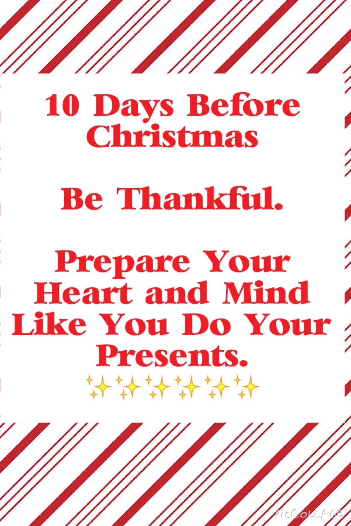 Until Christmas 10 Weeks Till Christmas.10 Days Until Christmas The Weekly Sparkle